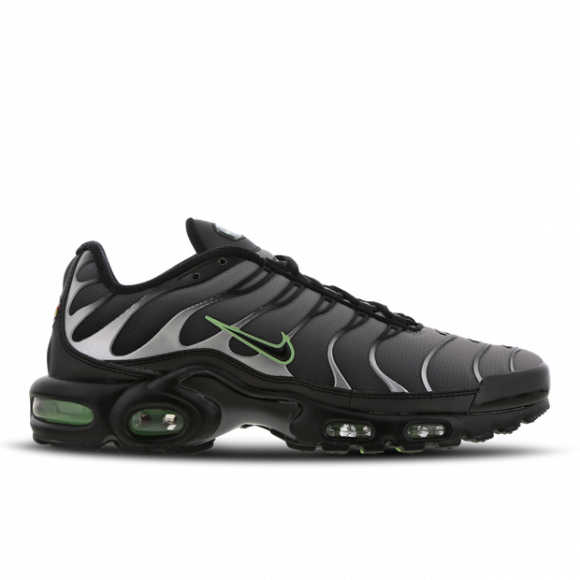 Nike Air Max Plus Black Particle Grey Vapour Green - CZ7552-001