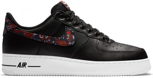 Nike Air Force 1 Low Black Floral - CZ7933-001