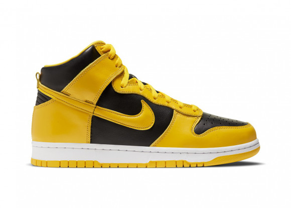 Nike Dunk High Black Varsity Maize - CZ8149-002