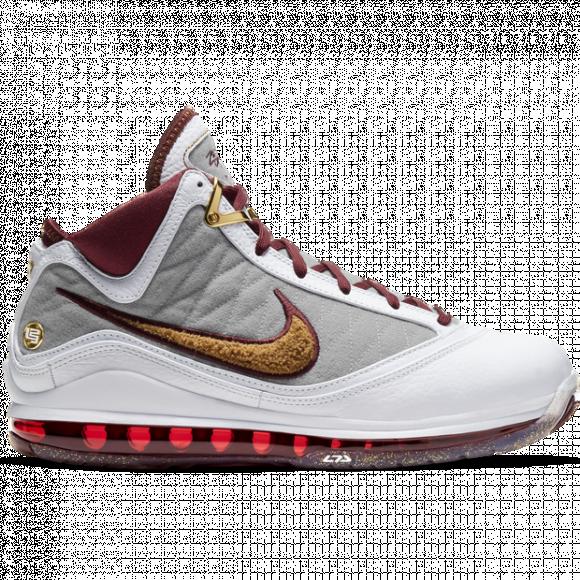 Womens Nike LeBron VII QS Women's - White, White - CZ8915-100