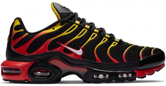 Nike Air Max Plus Gradient Black Red Yellow