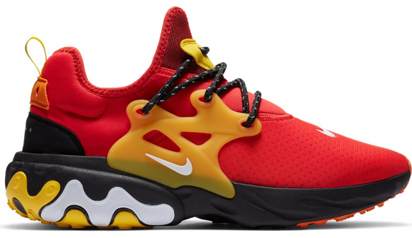 Nike React Presto Chile Red Speed Yellow - CZ9273-600