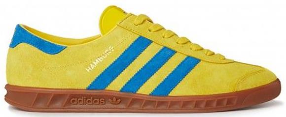 adidas Hamburg Tribe Yellow Bluebird - D65190
