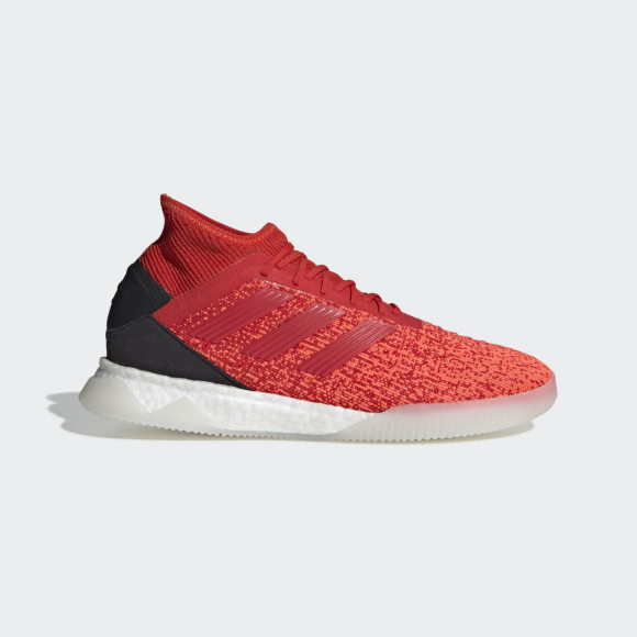 adidas Predator 19.1 Shoes Active Red Mens - D98057