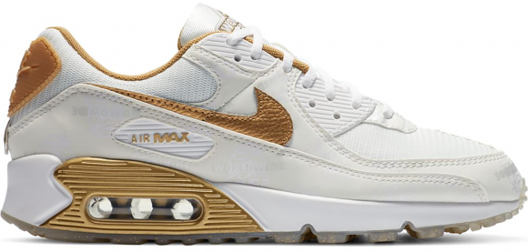 Nike Air Max 90 Worldwide White Gold (W)