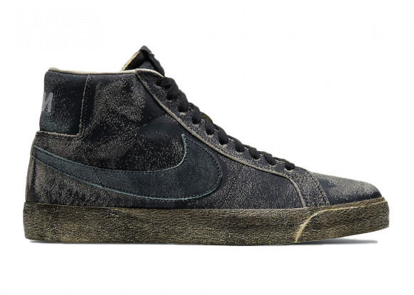 Nike Blazer Mid Faded Black - DA1839-001