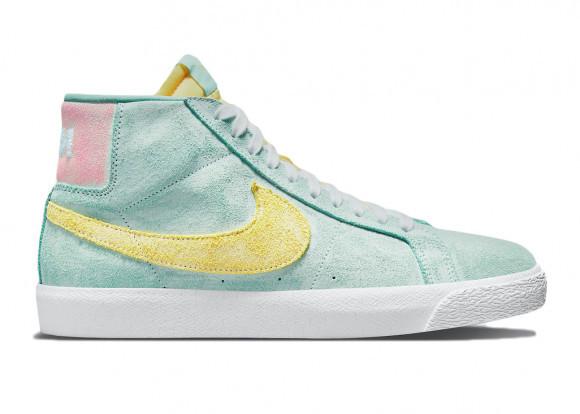 Chaussure de skateboard Nike SB Zoom Blazer Mid Premium - Vert ...