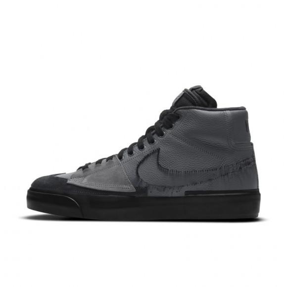 Nike SB Zoom Blazer Mid Edge Skate Shoe - Grey - DA2189-001