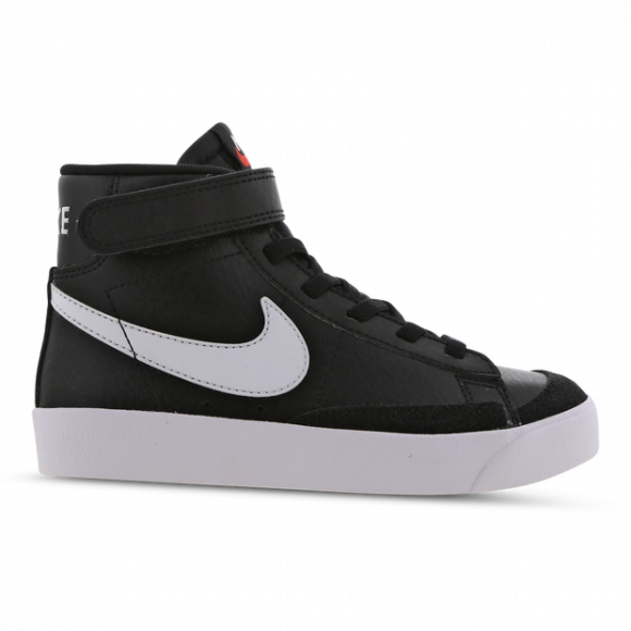 Boys Preschool Nike Nike Blazer Mid '77 - Boys' Preschool Shoe Black/Sail/White Size 03.0 - DA4087-002
