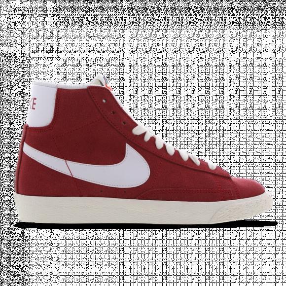 Nike Boys Nike Blazer Mid - Boys' Grade School Shoes Red/White Size 07.0 - DA4672-600