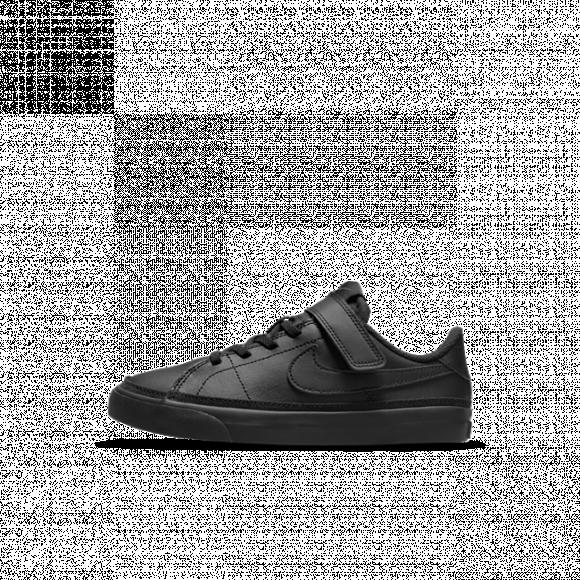 Chaussure Nike Court Legacy pour Jeune enfant - Noir - DA5381-001