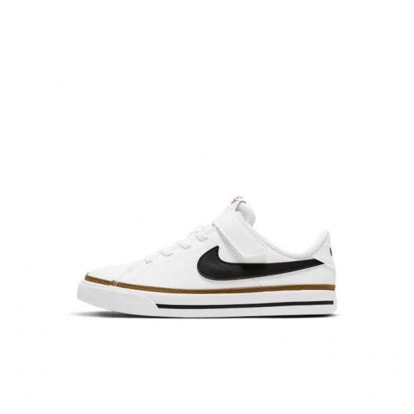 Chaussure Nike Court Legacy pour Jeune enfant - Blanc - DA5381-102