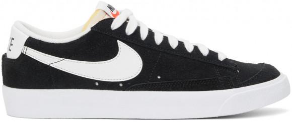 Nike Blazer Low 77 Homme Noir Et Blanche 40 Baskets - DA7254-001