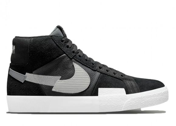 Nike Blazer Mid Mosaic Black Grey - DA8854-001