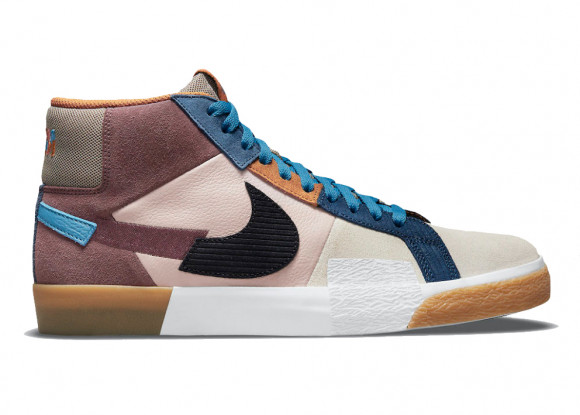 Nike SB Blazer Mid Mosaic Brown - DA8854-600
