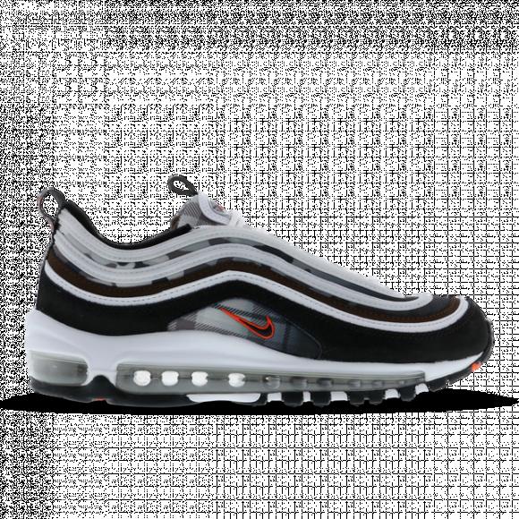 Nike Boys Nike Air Max 97 - Boys' Grade School Shoes White/Black Size 07.0 - DB2017-100