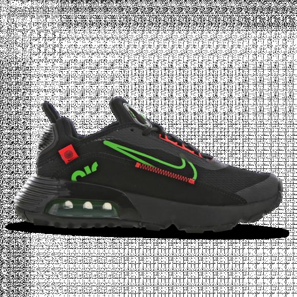 Boys Nike Nike Air Max 2090 - Boys' Grade School Running Shoe Black/Red/Green Size 07.0 - DB2618-001