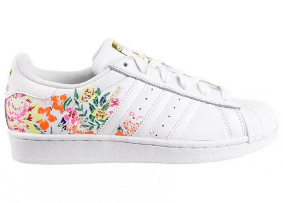 adidas superstar flower embroidery