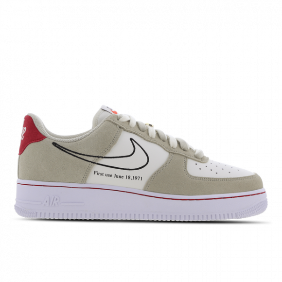 Nike Air Force 1 Low First Use Light Sail Red - DB3597-100