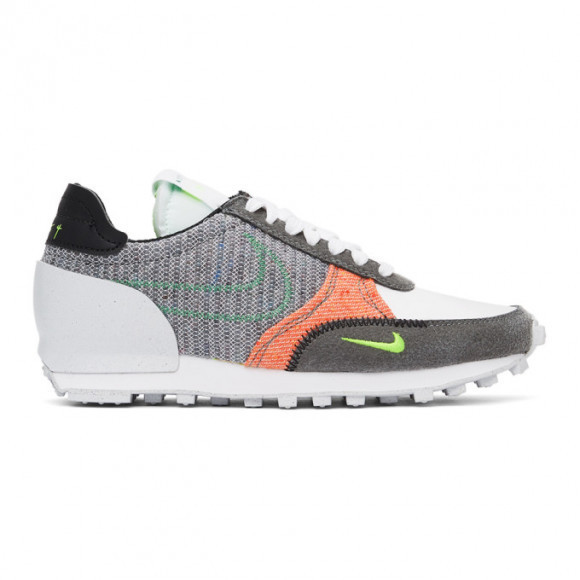 Nike Grey and White Daybreak Type Sneakers - DB4636