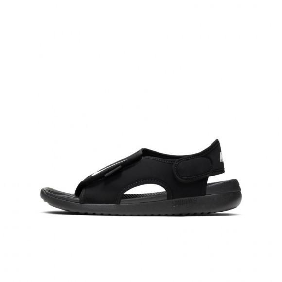 Nike Boys Nike Sunray Adjust 5 Sandal - Boys' Preschool Shoes Black/White Size 03.0 - DB9562-001