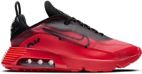 Nike Mens Nike Air Max 2090 - Mens Shoes University Red/Black/Metallic  Silver Size 09.5