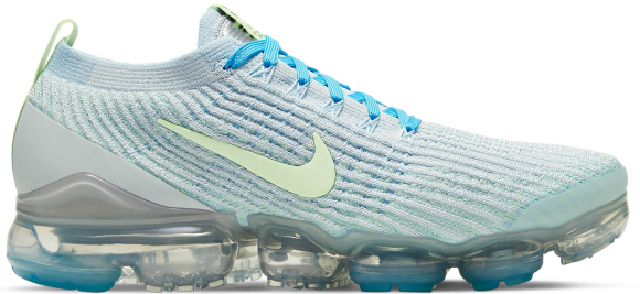 Nike Air VaporMax Flyknit 3 Baltic Blue Barely Volt (W)