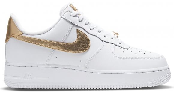 Nike Air Force 1 Low White Metallic Gold (2020) - DC2181-100