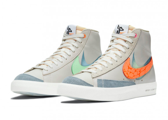 Nike Blazer MID '77 VNTG Shanghai Sneakers/Shoes DC3278-280 - DC3278-280