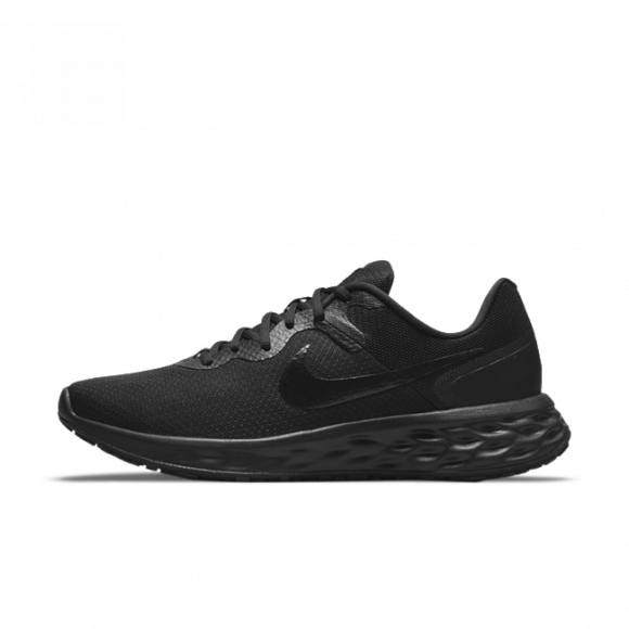 Nike Revolution 6 Next Nature Men's Road Running Shoes - Black - DC3728-001
