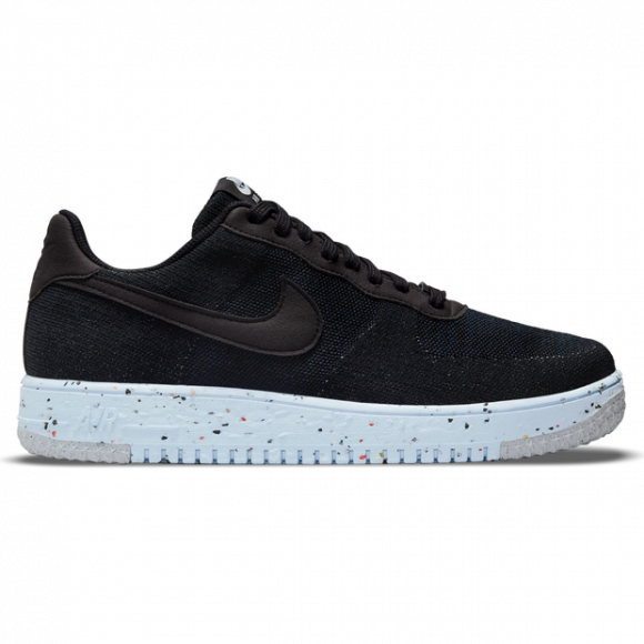 Nike Air Force 1 Crater Flyknit, Black/Blue - DC4831-001