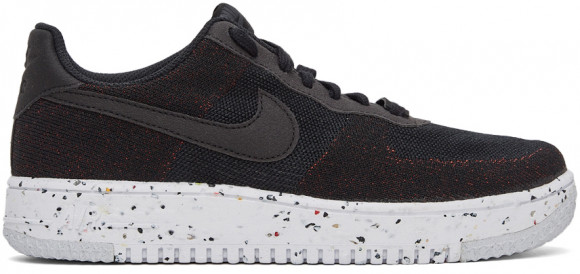 Nike Air Force 1 Low Crater Flyknit Black White - DC4831-003