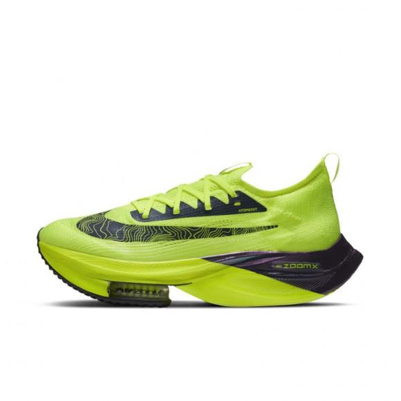 Nike Air Zoom Alphafly NEXT% Flyknit Men's Racing Shoe - Yellow - DC5238-702