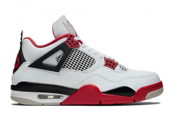 Jordan 4 Retro Fire Red (2020) - DC7770-160