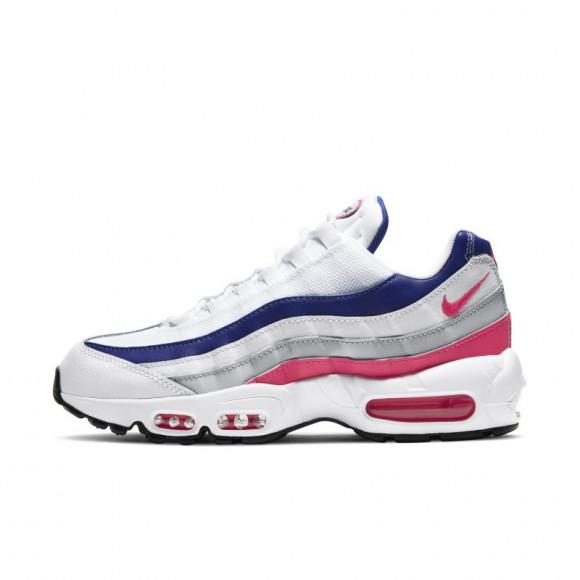 Nike Wmns Air Max 95 White/ Hyper Pink-Concord-Pure Platinum - DC9210-100