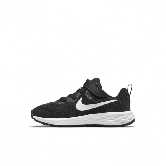 Nike Revolution 6 Younger Kids' Shoes - Black - DD1095-003