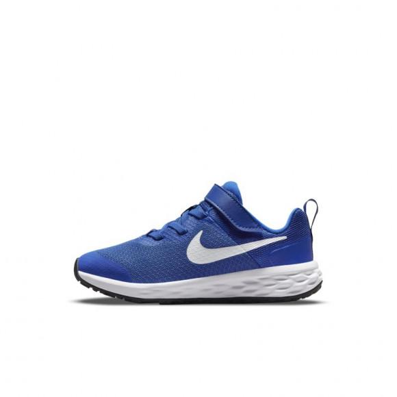 Nike Revolution 6 Younger Kids' Shoes - Blue - DD1095-411
