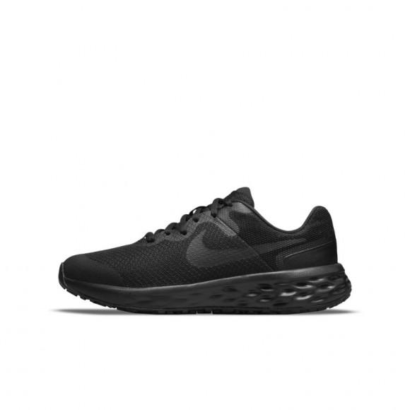 Nike Revolution 6 Older Kids' Road Running Shoes - Black - DD1096-001