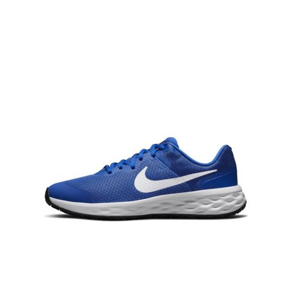 Nike Revolution 6 Older Kids' Road Running Shoes - Blue - DD1096-411