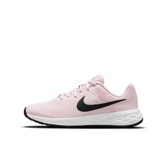 Nike Revolution 6 Older Kids' Road Running Shoes - Pink - DD1096-608