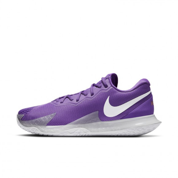 NikeCourt Zoom Vapor Cage 4 Rafa Men's Hard Court Tennis Shoe - Purple - DD1579-524