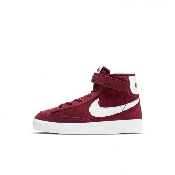 Boys Preschool Nike Nike Blazer Mid '77 - Boys' Preschool Shoe Team Red/White/Black Size 03.0 - DD1850-600