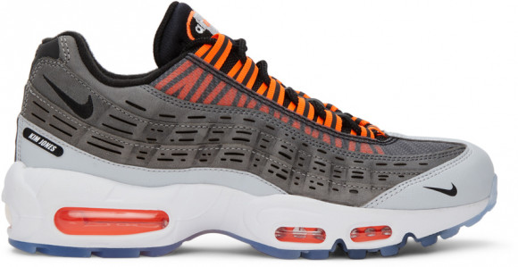 Nike x Kim Jones Air Max 95 Black/ Total Orange-Dark Grey-Cool ...