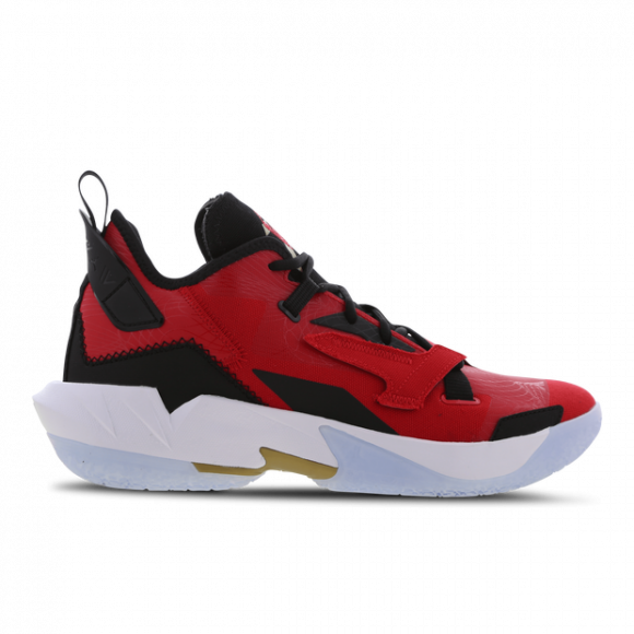 Jordan Why Not Zero.4 - Men's Basketball Shoes - Univ Red / Metallic Gold / Black - DD4887-600