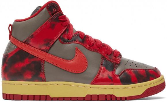 Nike Dunk High 1985 Acid Wash Red - DD9404-600