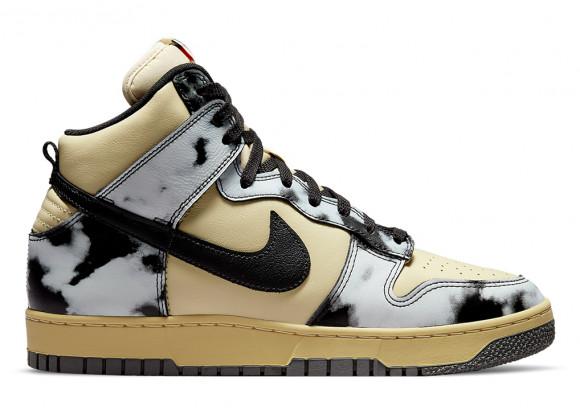 Nike Dunk High 1985 Acid Wash Cream Black - DD9404-700