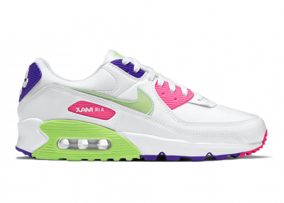Nike Air Max 90 White Neon - DH0250-100