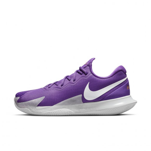 NikeCourt Zoom Vapor Cage 4 Rafa Men's Clay Court Tennis Shoe - Purple - DH1312-524