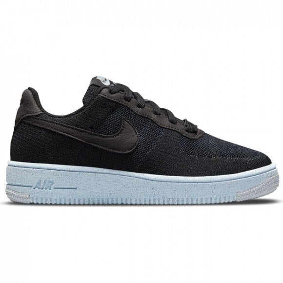 Scarpa Nike Air Force 1 Crater Flyknit - Ragazzi - Nero - DH3375-001