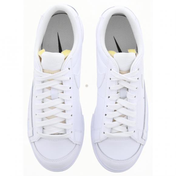 Nike Sportswear Blazer Low Platform White  - DJ0292-100